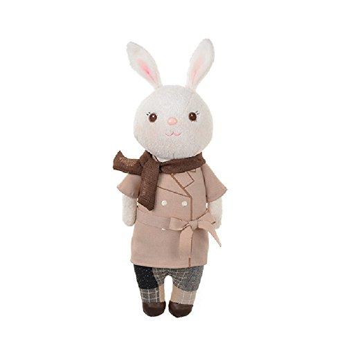 metoo-beige-windbreaker-tiramisu-rabbit-upgrade-section-plush-toy-doll-stuffed-bunny-lovely-birthday