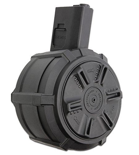 G & G G&G Airsoft Battery Auto Winding Drum Mag for M-Series 2300Rd (Auto-drums)