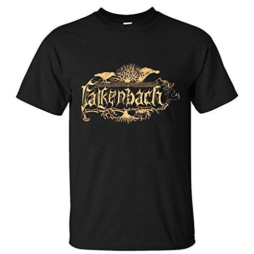 Michaner Walosde Falkenbach Logo Men's Cotton T Shirt Medium