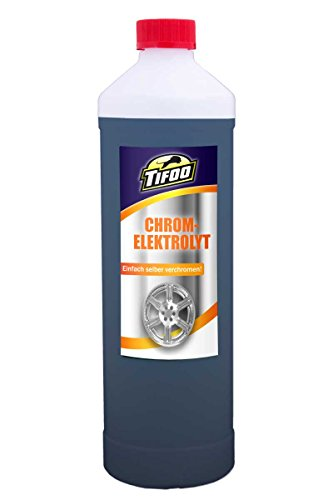 Chromelektrolyt (500 ml) - Galvanisch verchromen, Stiftgalvanik
