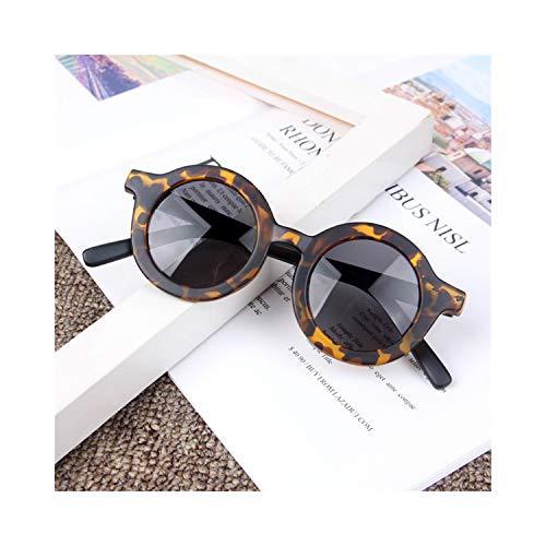 Sportbrillen, Angeln Golfbrille,NEW Fashion Kids Sunglasses Round Frame Boys Girls Sun Glasses Children Baby Eyeglasses UV400 Shades Oculos Gafas De Sol T6