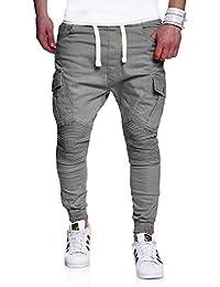 MT Styles Biker Jogging-Jeans Pantalon homme RJ-2276