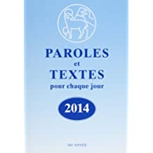 Paroles et Textes 2014