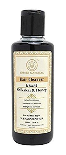 Natürliche Kräuter Shikakai und Honig Conditioning Shampoo für alle Haartypen (210 ml) - von Khadi Organic Natural -