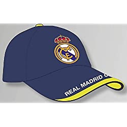 GORRA OFICIAL - REAL MADRID - AZUL ADULTO COTTON LIKE
