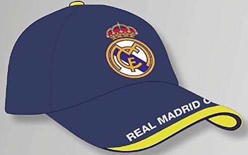 GORRA OFICIAL - REAL MADRID - AZUL ADULTO