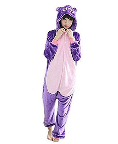 6a11307c73 Ovender Kigurumi Pigiami Animali Unisex Bambina Bambino Bambini Costume  Carnevale Halloween Cosplay Unicorno Stitch Gufo Zebra