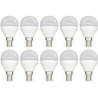 LAMPADINA LED 6W LUCE NATURALE E14 MINI GLOBO G45 KODAK 71004 EU 4000 10 PZ