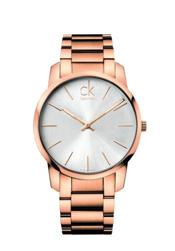 Calvin Klein  K2G21646 - Reloj de cuarzo para hombre, con correa de acero inoxidable, color dorado