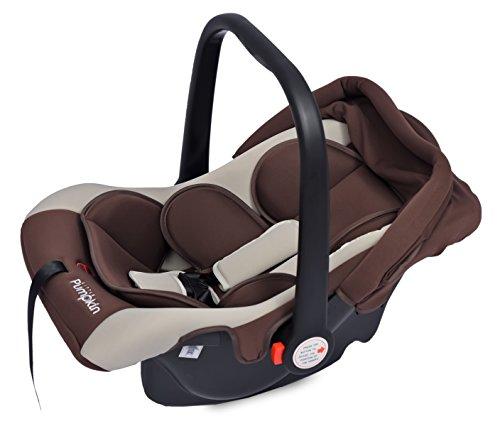 Little Pumpkin - Kiddie Kingdom - Infant Car Seat cum Carrycot (Brown Beige)