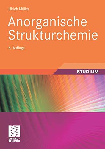 Anorganische Strukturchemie (Studienbücher Chemie) (German Edition)