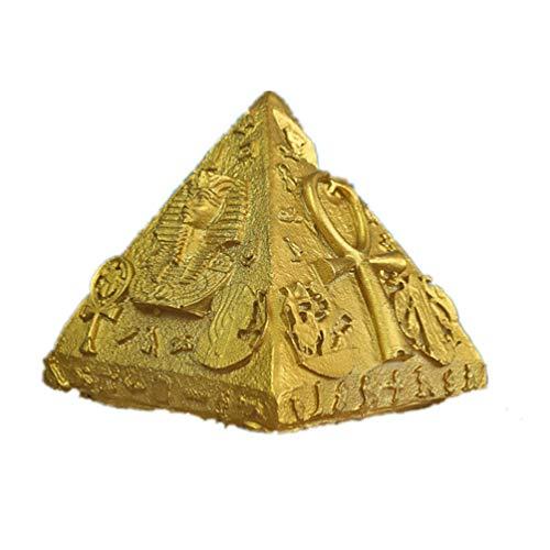 Cantidad: 1 x Figura de Pirámide EgipciaColor: como muestra la fotoNotas:- Debido a la diferencia de la luz y de la pantalla, el color del artículo real puede ser levemente diferente de las fotos.- Por favor acepte una posible diferencia de 0-0,5cm d...