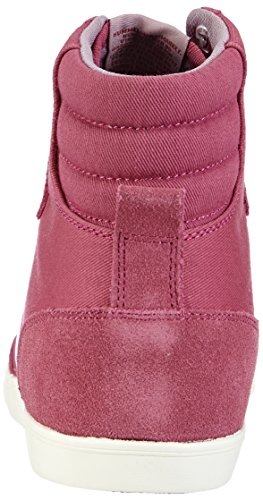hummel SL STADIL PASTELS HI Damen Hohe Sneakers Pink (Malaga 4492)