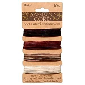 Darice Gabarit d'embossage en bambou Cordon–Couleur terre couleurs