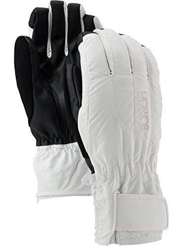 Damen-profil-snowboard Handschuhe (Burton Damen Snowboardhandschuhe PROFILE UNDERGLOVE, Stout White, M, 10363101101)