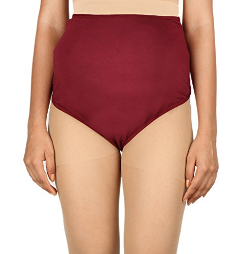 LADY CARE Maternity Panties ( Maternity_17_Maroon_Small)