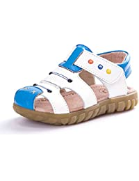 93a356da KVbaby Sandalias Punta Cerrada para Niños,niña Suela es Muy Flexible  Sandalias Suave Sandalias de