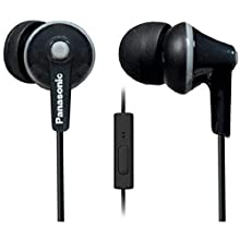 Panasonic RPTCM125EK Headphone with Microphone - Black