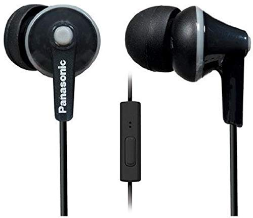 Panasonic RP-TCM 125 E-K Cuffie In-Ear, Nero