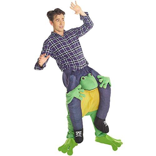Gruppe Kostüm Funny - Morph MCPBF - Frosch Huckepack Kostüm - Uni Größe