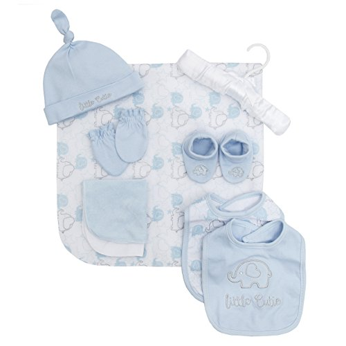 Babytown Baby Boys and Girls Gift Set With Hat Bibs Cloth