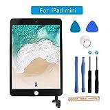 FLYLINKTECH Touchscreen für iPad Mini 3, voller Front-Touchscreen Digitizer Glas Montage Reparatur Ersatzteile mit flexiblem Kabel und Werkzeuge (iPad Mini 3 Schwarz)