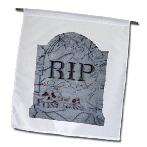 _ 1Halloween RIP Grabstein mit Skulls Garten Flagge, 12von 18 (Halloween Grabstein Zeichnungen)