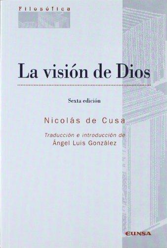La visión de Dios por Cardenal Nicolás de Cusa - Cardenal -