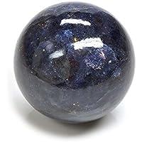 Crocon Iolith Reiki Healing Kugel Ball mit Ständer Edelstein Energie Generator für Aura Cleansing Chakra Balancing... preisvergleich bei billige-tabletten.eu