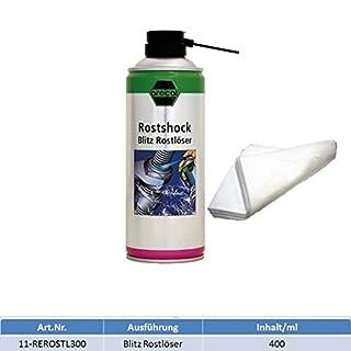 Arecal Rostlöser Rostshock 400 ml + MARETeam Ölaufsaugtuch