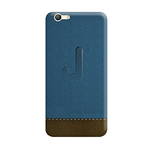 Vivo Y53 Back Cover Designer 3D Hard Mobile Case Printed Cover For Vivo Y53  By Gismo   Alphabet J Letter Jeans ...