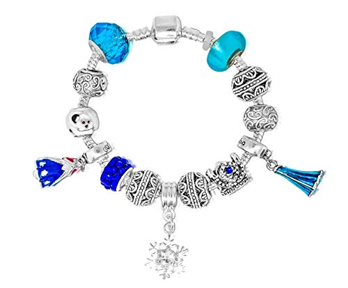 ssinnen inspirierten Charm Armbänder für Mädchen (Elsa eiskönigin und Anna) ❄️❄️❄️ ()