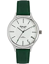 Omax Analog White Dial Unisex's Watch - TS388