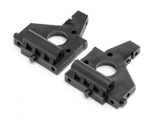 HPI RACING SPRINT 2 SPORT FLUX FRONT AND REAR BULKHEAD BULK HEAD SET by HPI (2 Racing Hpi Sprint)