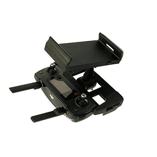 Preisvergleich Produktbild Hensych® Monitor Halterung Schwarz für DJI MAVIC PRO Fernbedienung Halter Unterstützung 4-12 Zoll Gerät Telefon Tablet