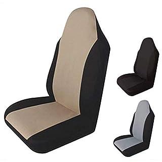 AAGOOD Universal-Auto-Sitzabdeckung Antifouling wasserdichte Auto-Sitzmatte Weiches atmungsaktiv Pet Kissen für die automatische, Split Bänke