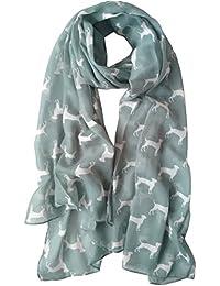 GlamLondon Labrador Dog Scarf Ladies Fashion Scarves