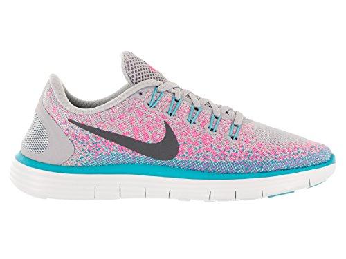 Nike hrly PHNTM HW Motion Stripe pantaloncini, uomo Wolf Grey/Dark Grey/Pink Blast