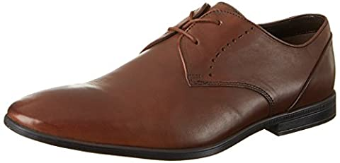 Clarks Men's Bampton Lace Derby, Brown (Tan Leather), 9 UK