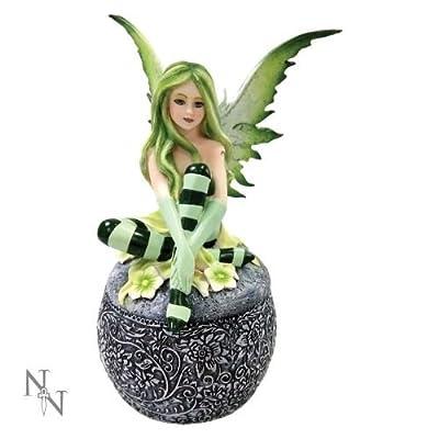 Nemesis Now Fairy Collection - Ellisha's Rest Trinket Box - 17.5cm - C2039F6