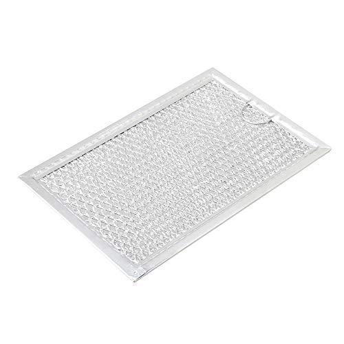 Yibuy Ersatz-Fettfilter für Mikrowelle 5304464105 Silber - Mikrowelle Fettfilter