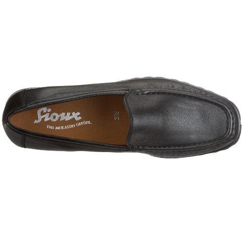 Sioux  52730, pantoufles femme Noir