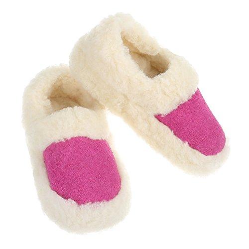 Damen und Herren Schuhe, PAN-1-301, HAUSSCHUHE Pink