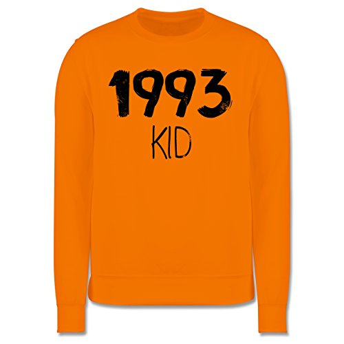 Geburtstag - 1993 KID - Herren Premium Pullover Orange