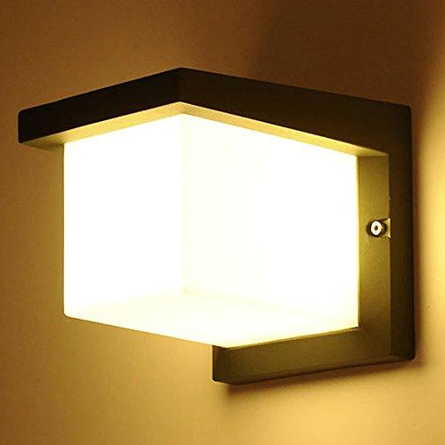 Wand Lampe Moderne Wand Licht Balkon Wand Licht Leuchten LED Aluminiumlegierung Wandleuchte Durchmesser 19Cm Wandleuchte Outdoor -