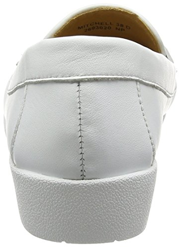 Van Dal Damen Mitchell Slipper White (white/gold)