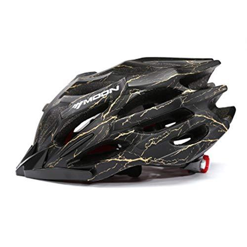 ZMMHW Fahrradhelm Ultraleicht 27 Air Vents Fahrradhelm für Männer Frauen Teenager Rennrad Mountainbike Helm,G,M