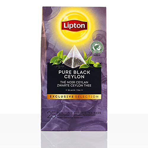 Lipton Tee Exclusive Selection Pure Black Ceylon 25 x 0,9g