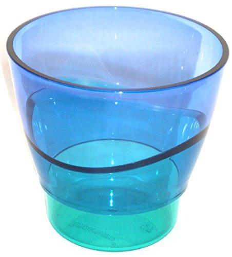 1a TUPPER Trinkbecher ELEGANZIA Becher Schüssel Schale 290 ml --- blau türkis