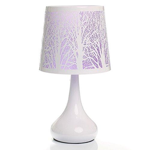 Touch Lampe White-Baum, Violett -